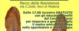 Domenica 3 luglio: inaugurazione sgambatoio Novi di Modena