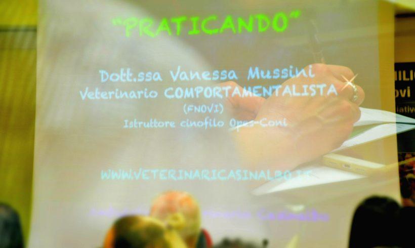 """""""PRATICANDO"""" corso con la dott. Vanessa Mussini, veterinario comportamentalista"""