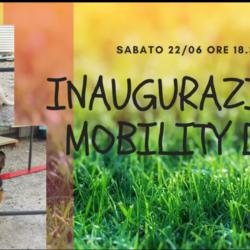 INAUGURAZIONE MOBILITY DOG SABATO 22 ORE 18.30